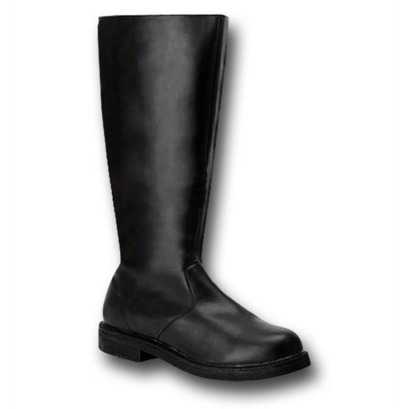 Black Boots Captain Style For Men