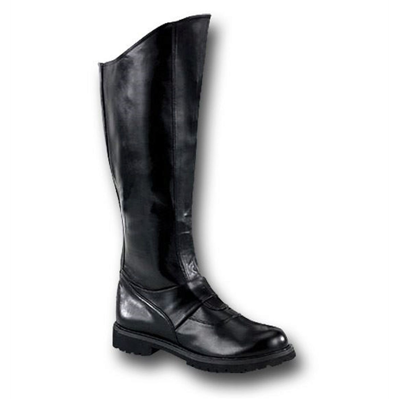 Black Boots Gotham Style For Men