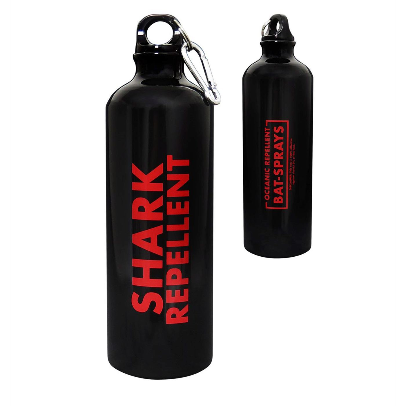 Bat-Shark Repellent 26oz Aluminum Sport Bottle