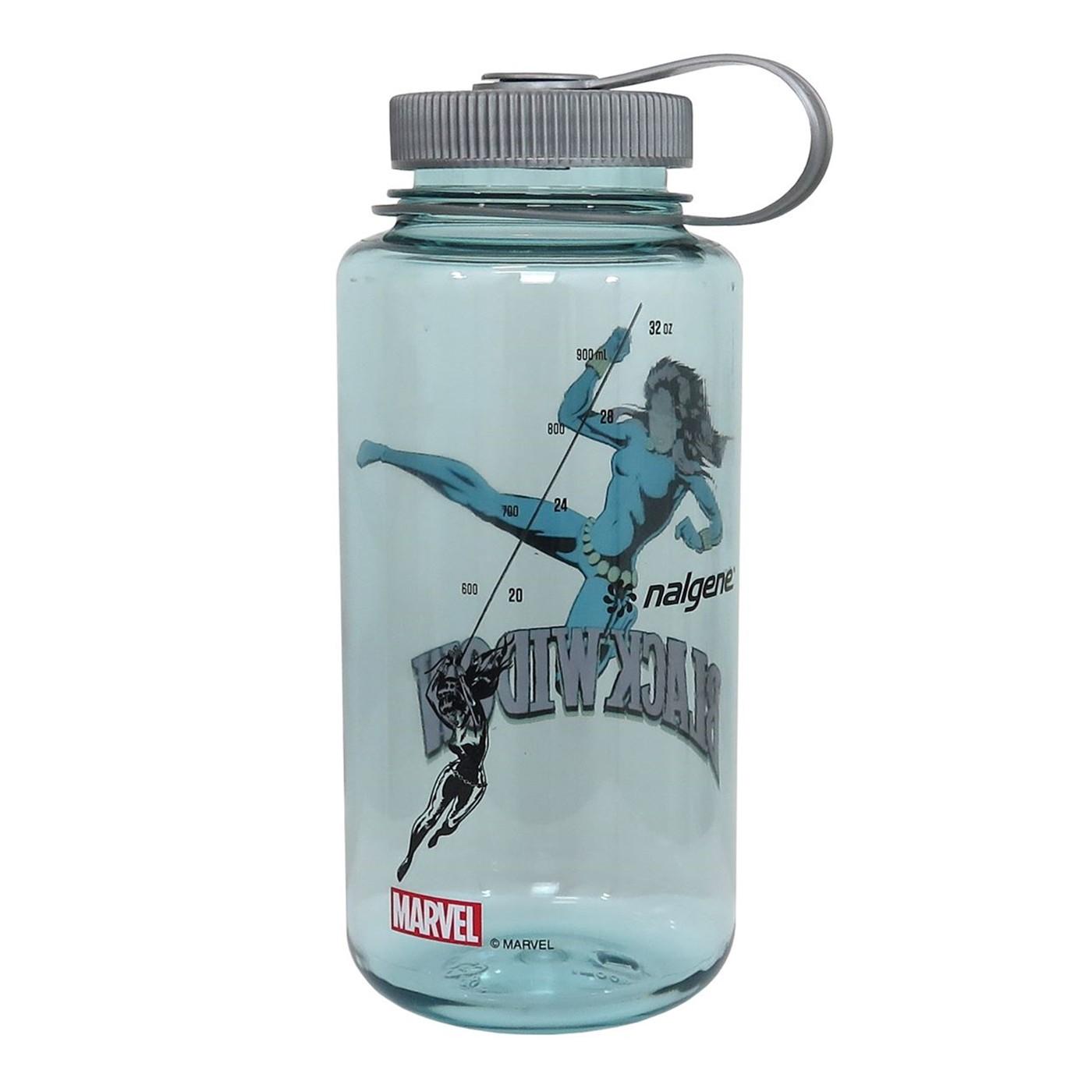 Black Widow Nalgene Tritan 32oz Water Bottle