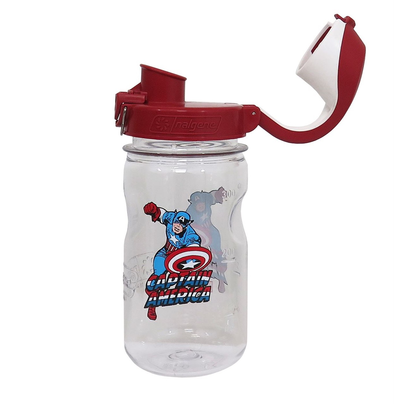 Captain America Nalgene Kids 12oz Water Bottle