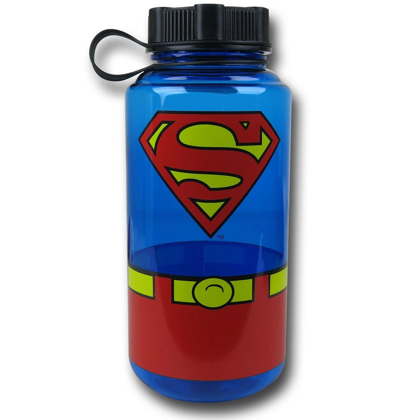 Superman Plastic Screw Top Bottle