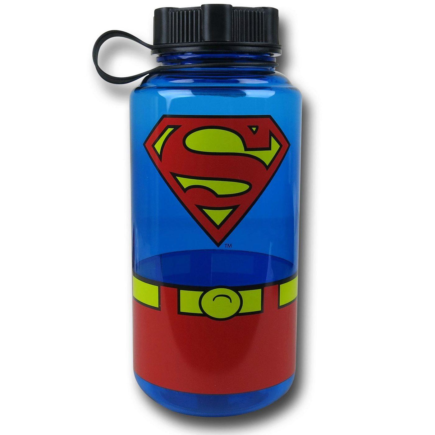 Superman Plastic Screw Top Bottle