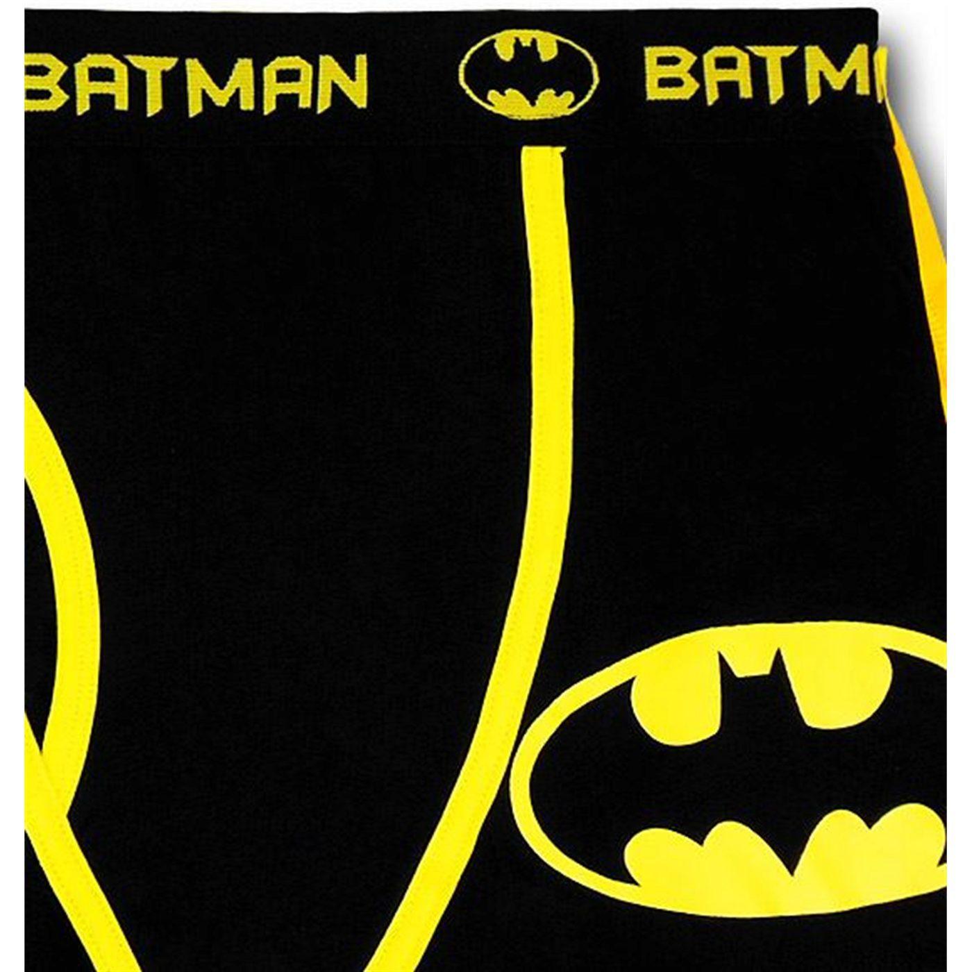 Batman Black Caped Boxer Briefs