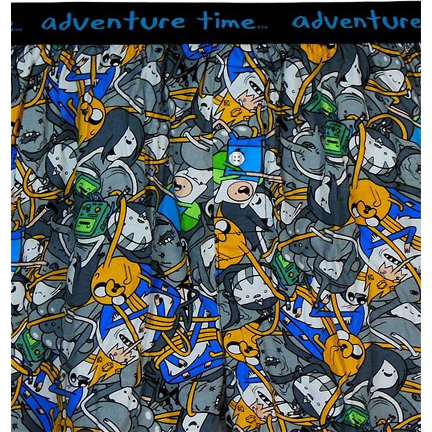 Adventure Time Jake & Finn Print Boxers