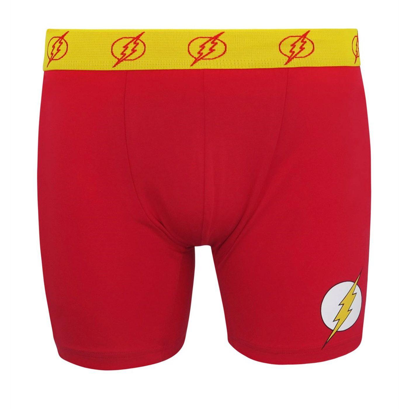 Flash Symbol Men's Underwear Fashion Boxer Briefs