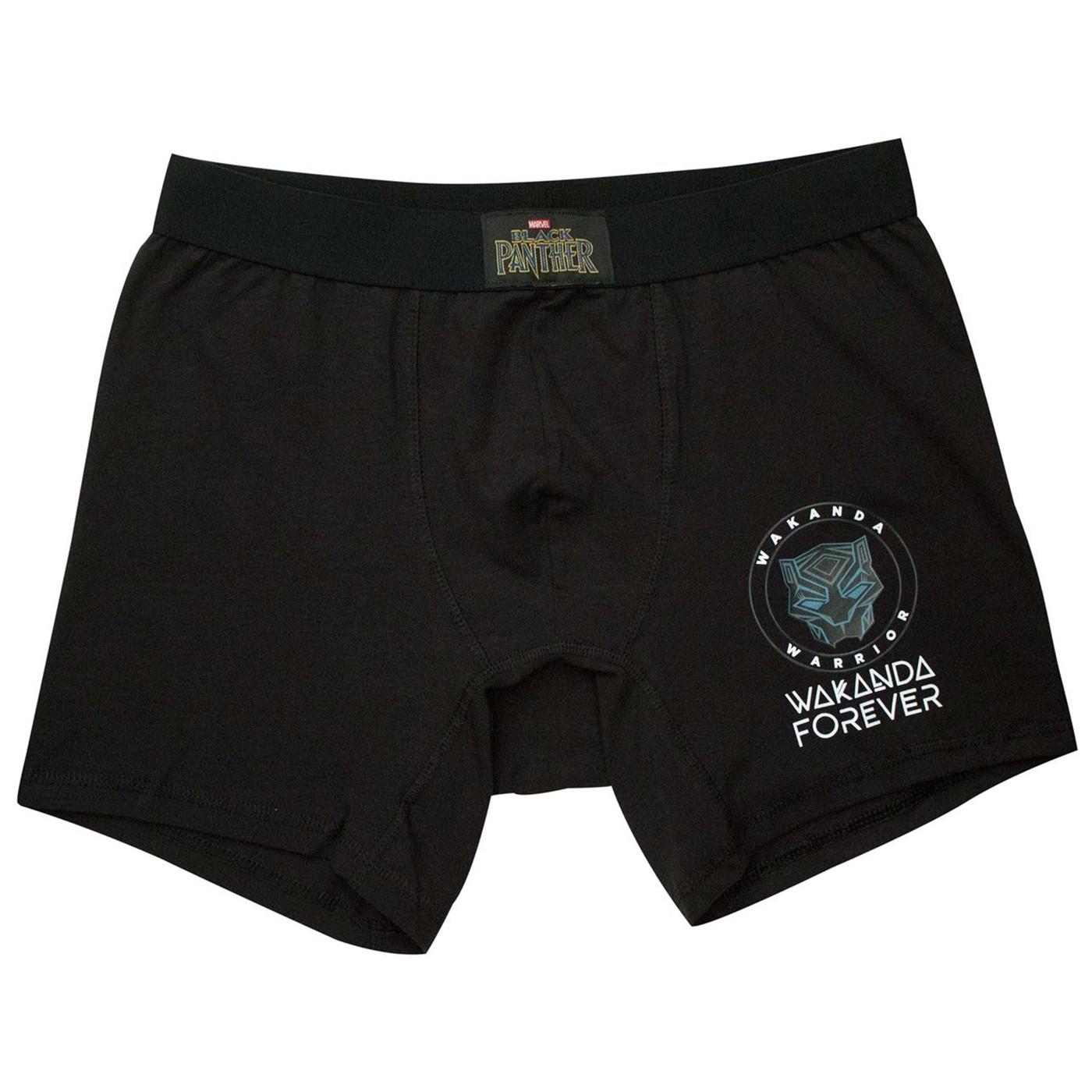 Black Panther Wakanka Forever Men's Underwear Boxer Briefs
