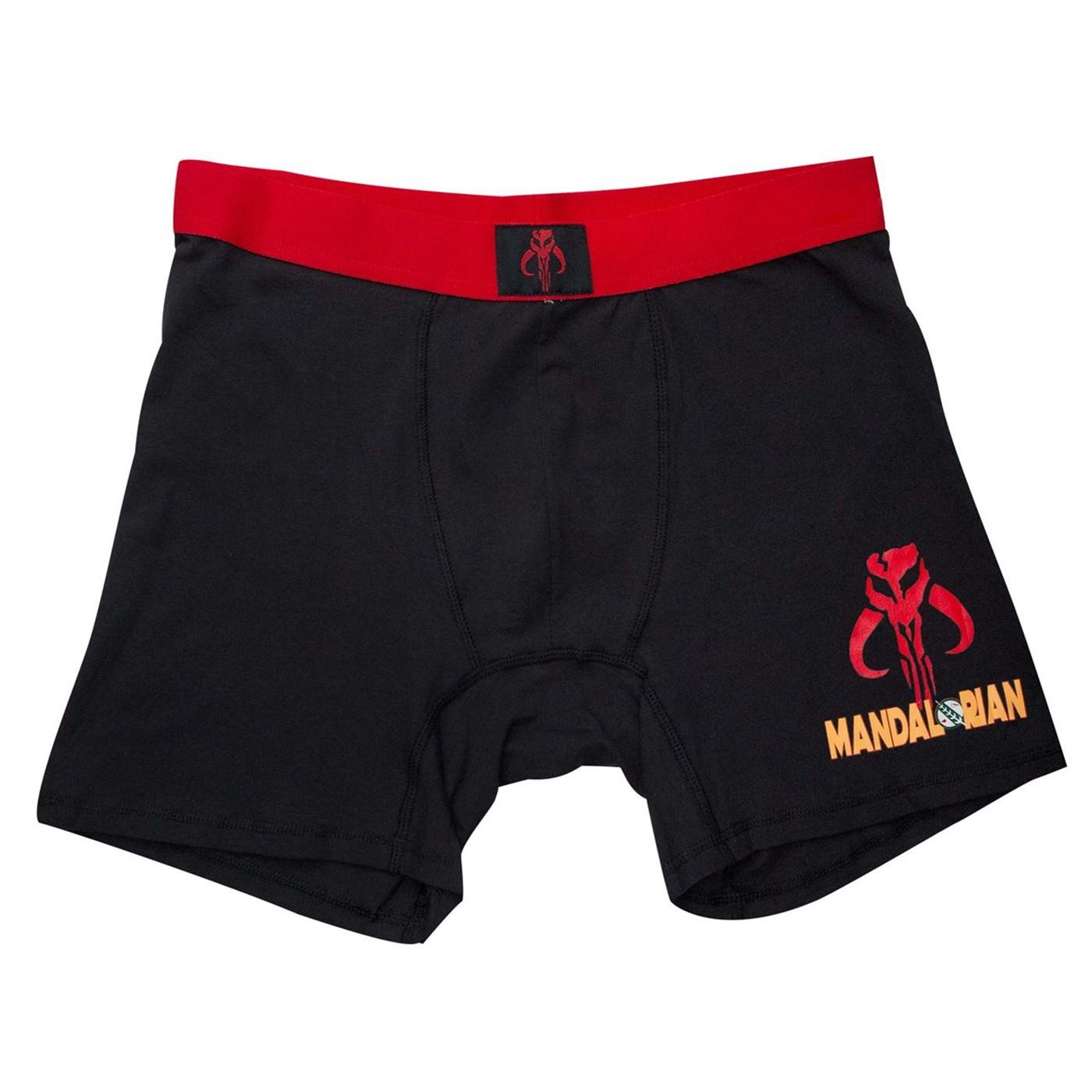 Star Wars Mandalorian Men's Underwear Boxer Briefs