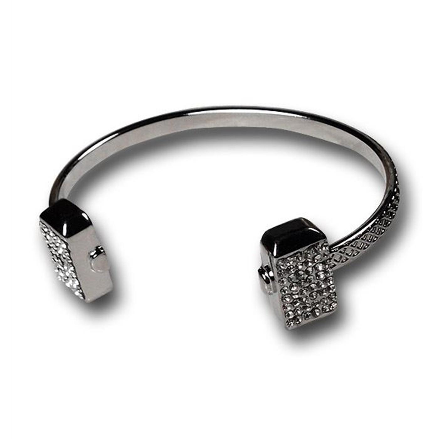 Thor Silver Hammer Bracelet