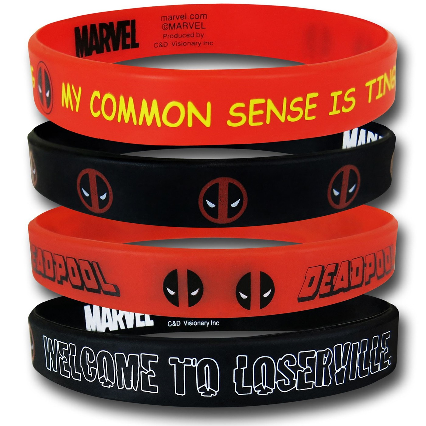 Deadpool Wristband Set
