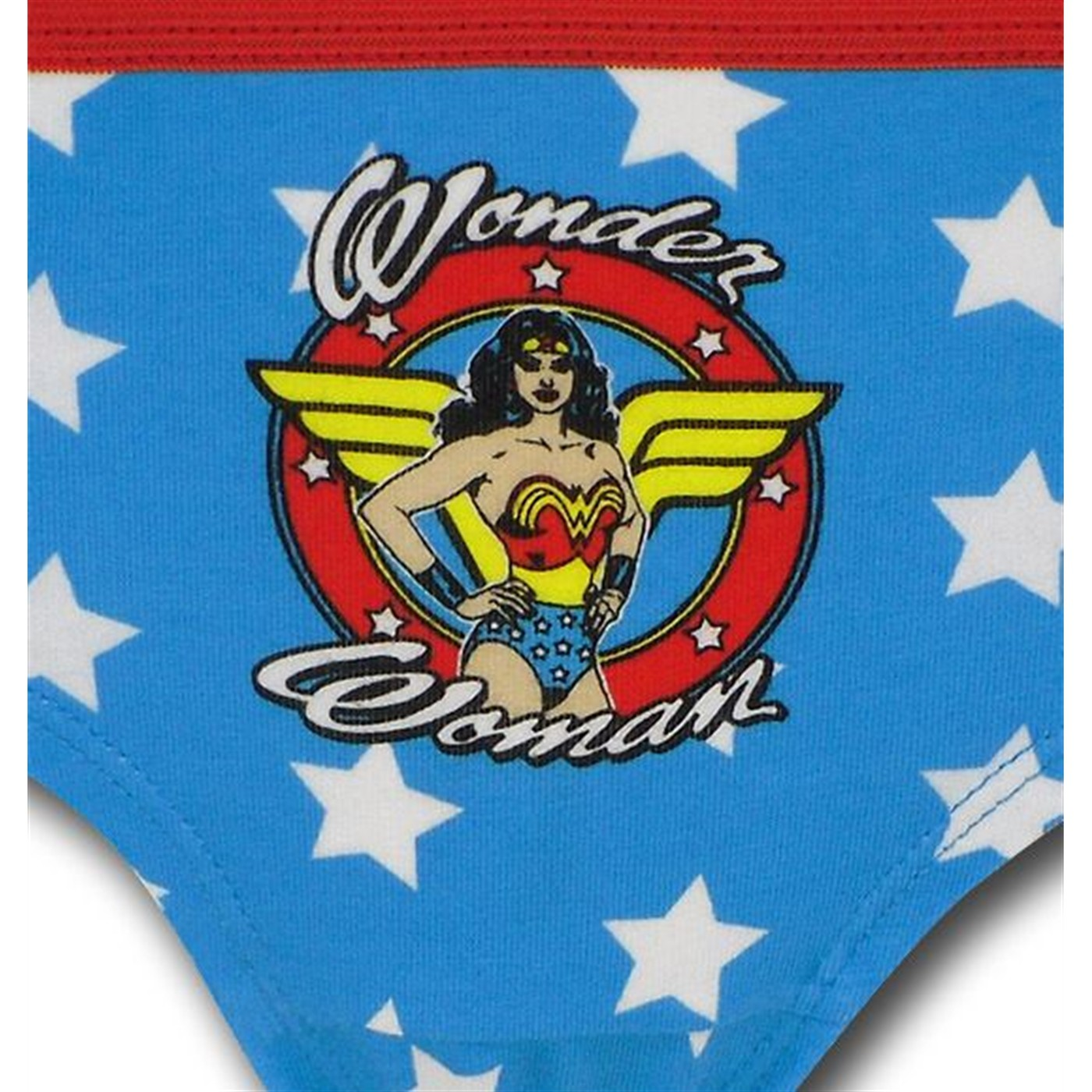 Wonder Woman Women's Hipster 3 Pack Briefs