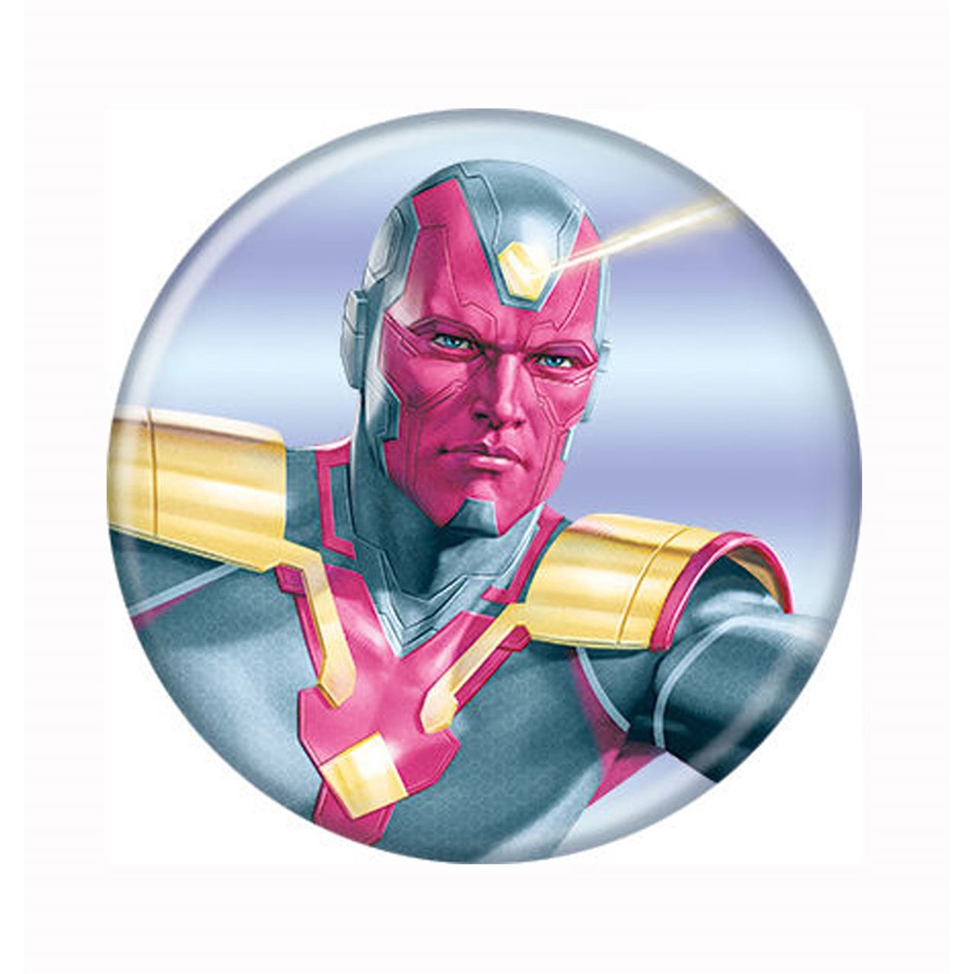 Avengers Infinity War Vision Button