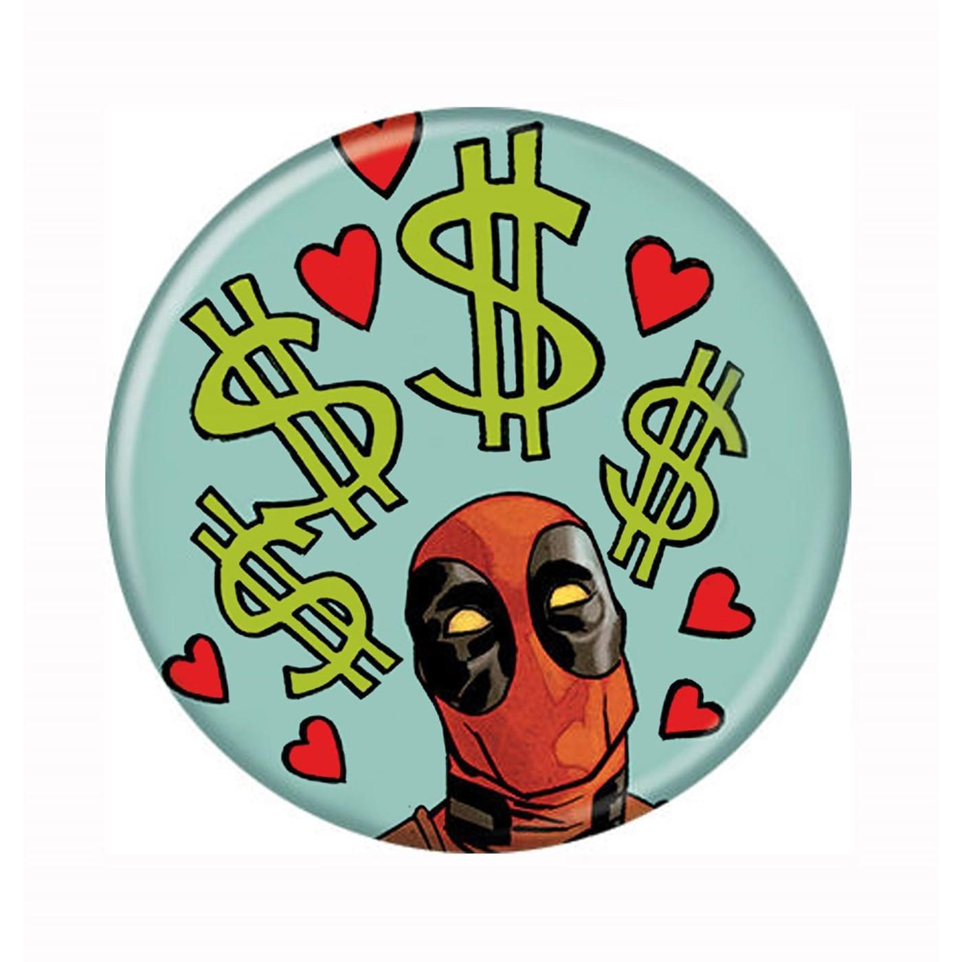 Deadpool Loves The Money Button