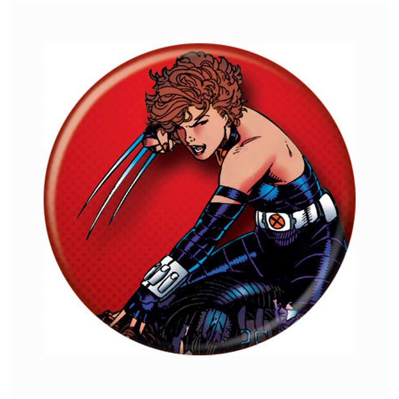 X-Men Kitty Pryde Shadowcat Claws Button
