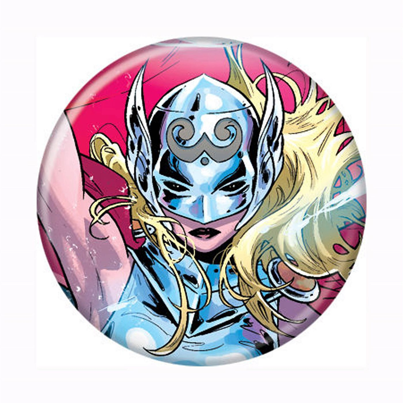 Lady Thor Button