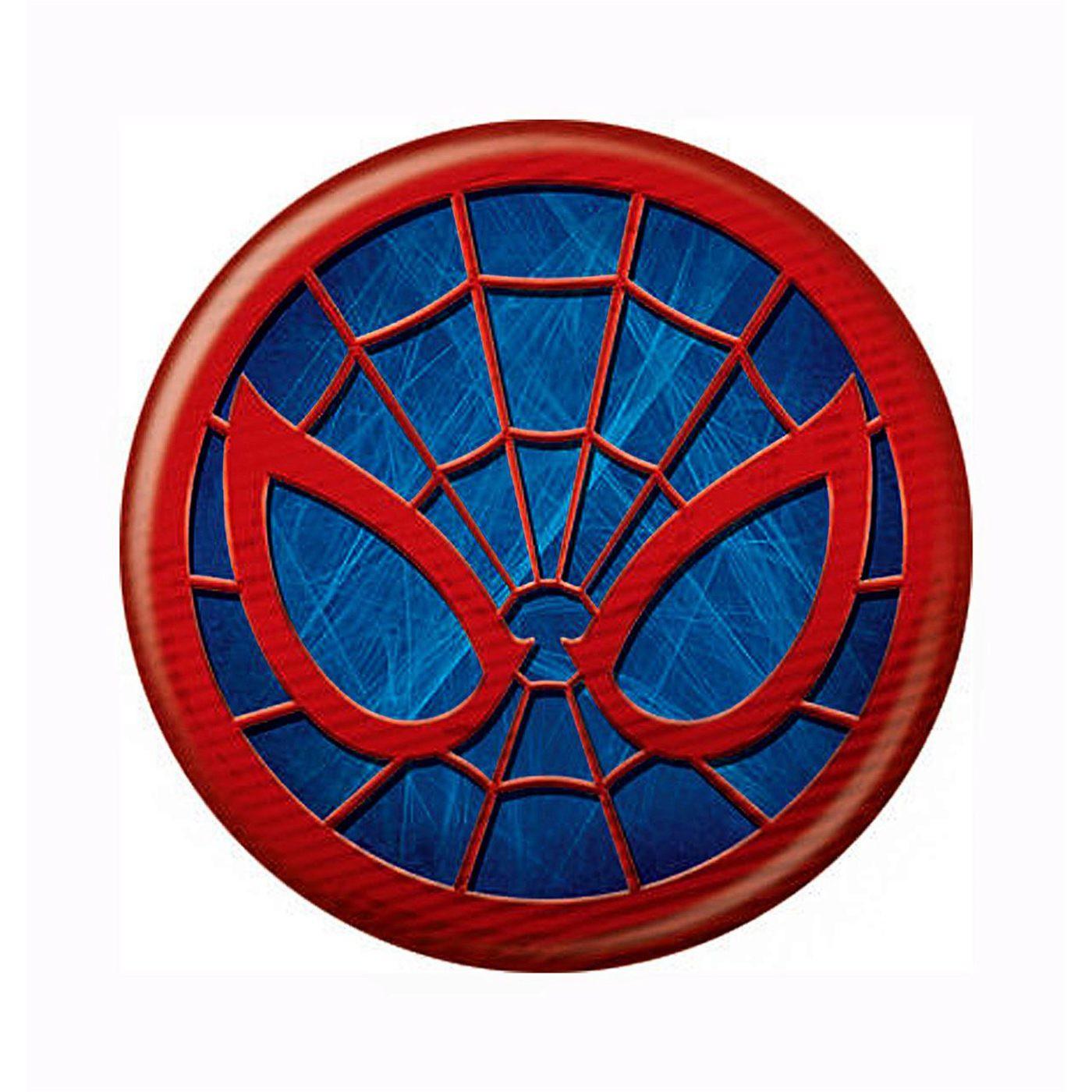 Spider-Man Icon Symbol Button