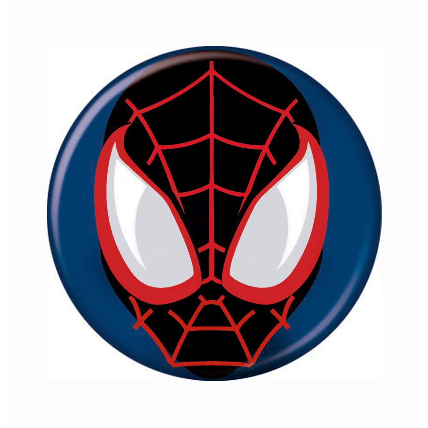 Spiderman Miles Morales Mask Button