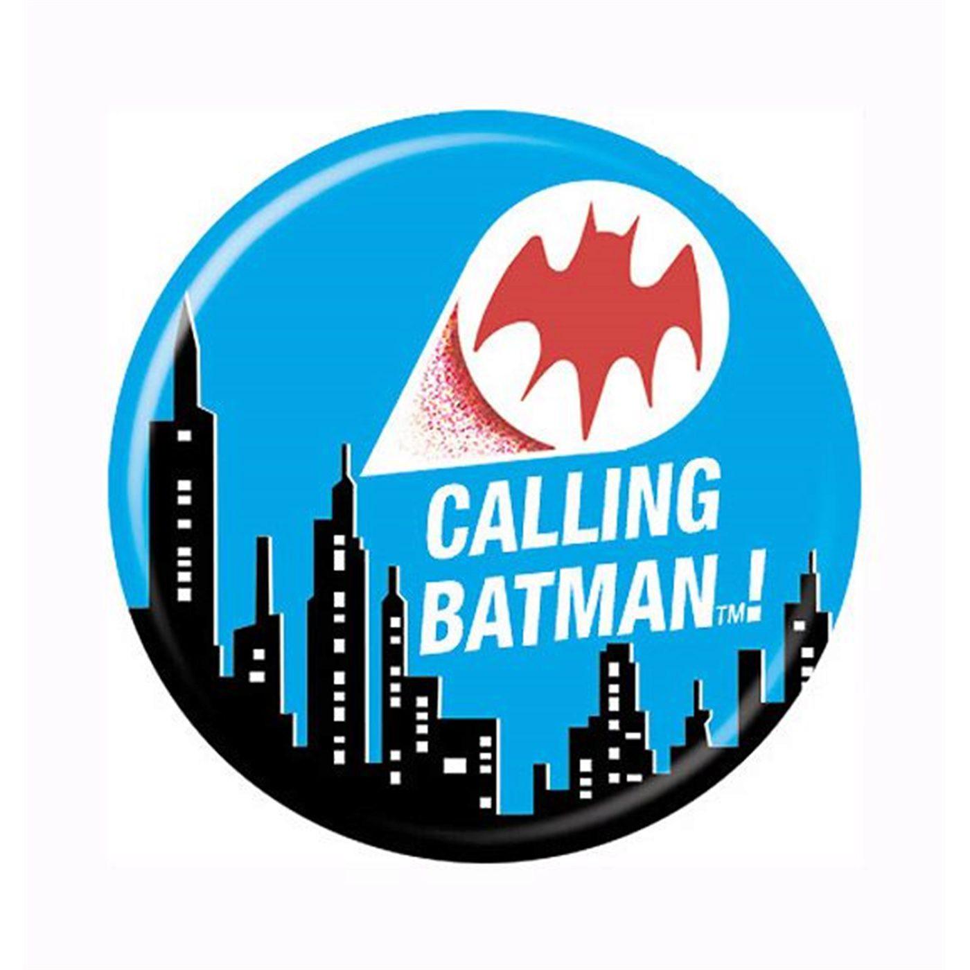Calling Batman Button
