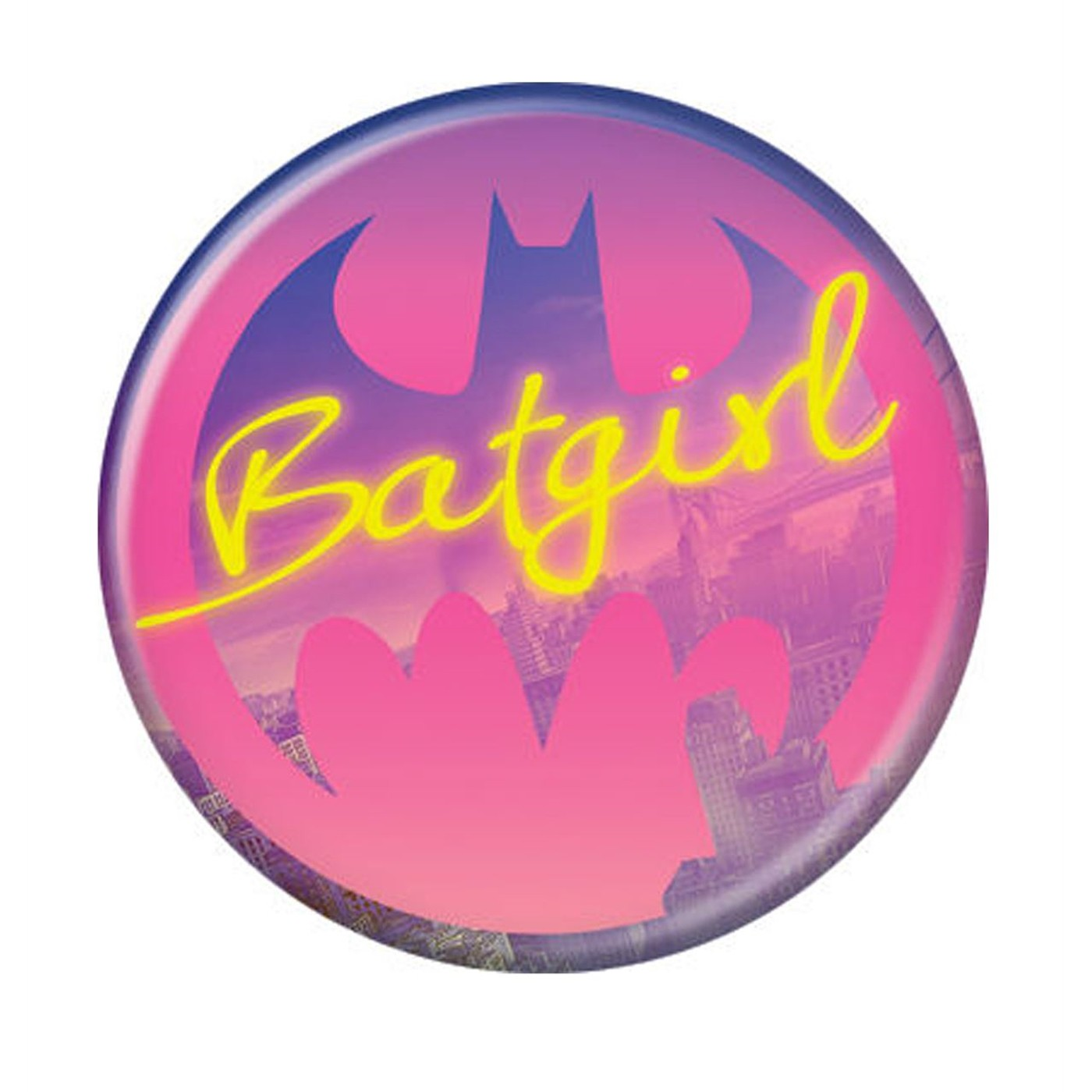 Batgirl City Life Button
