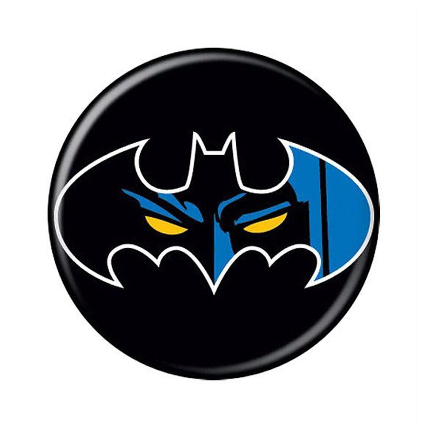 Batman Eyes Symbol Button