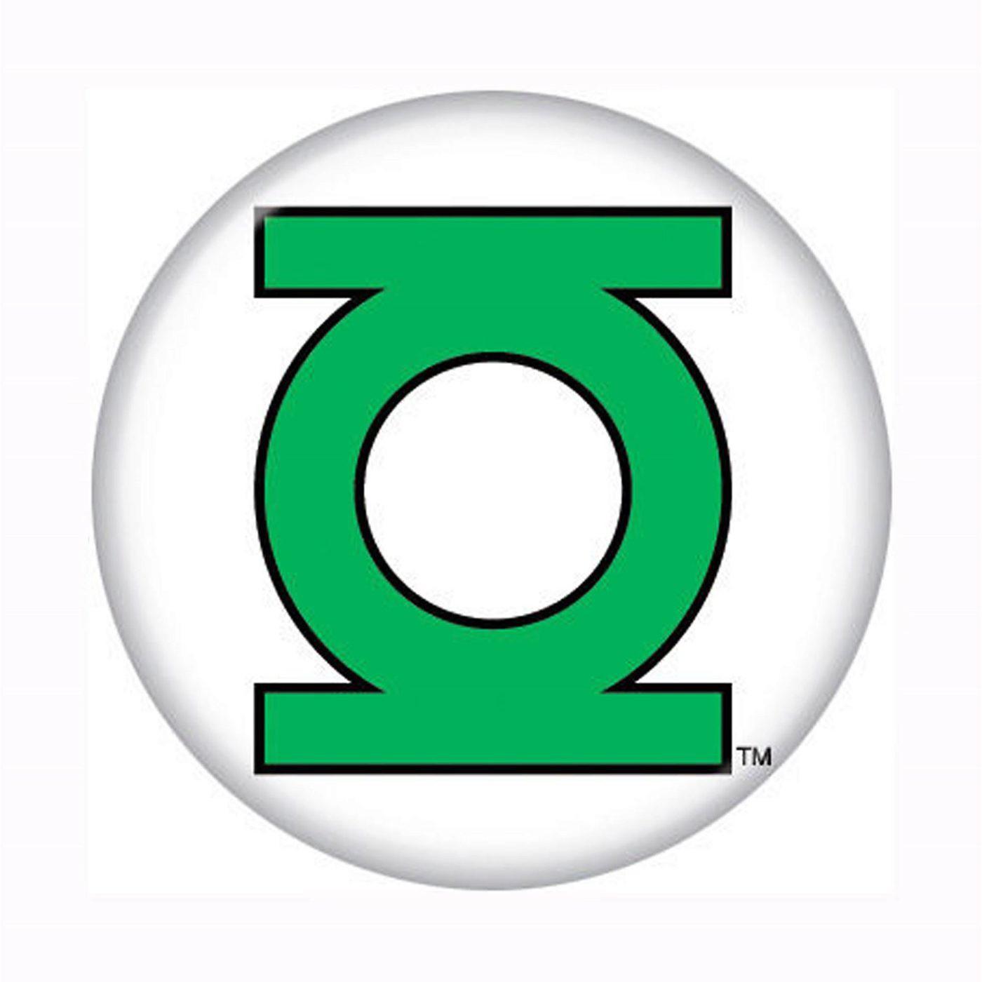 Green Lantern Button Symbol