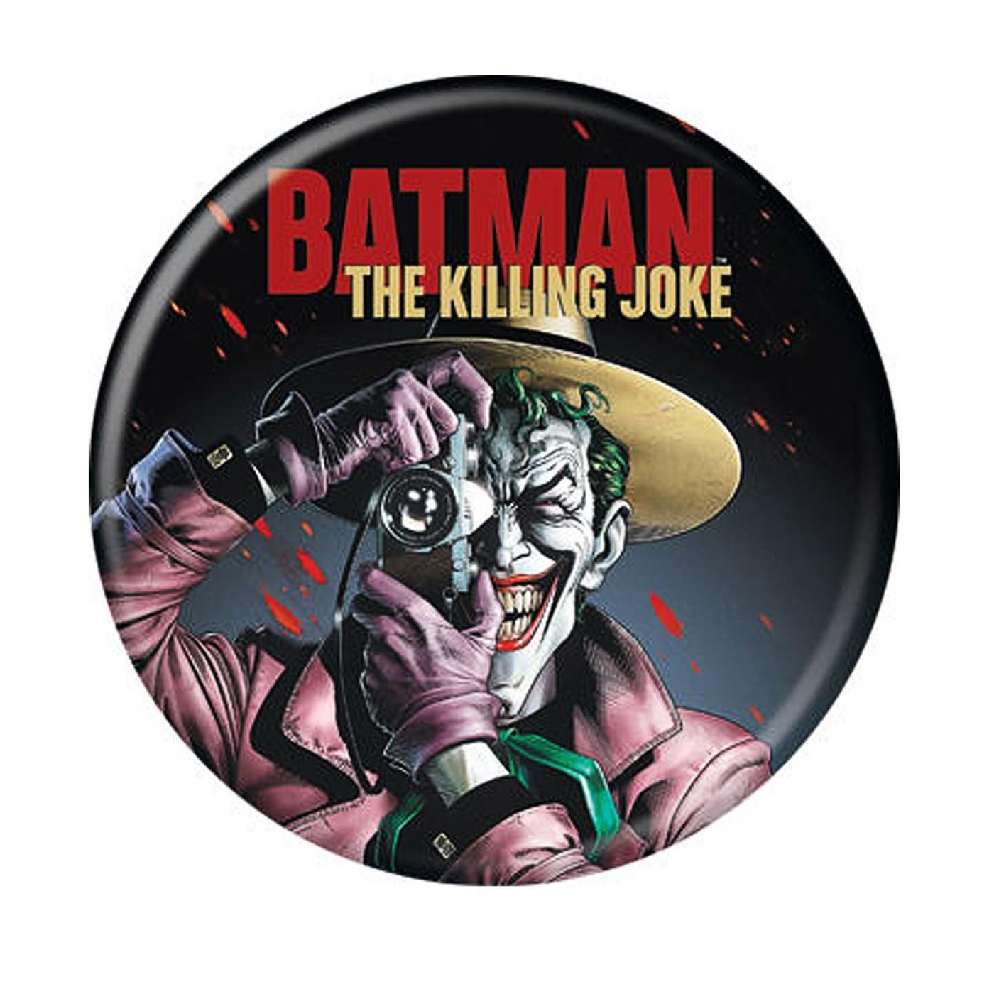 Joker Killing Joke Button