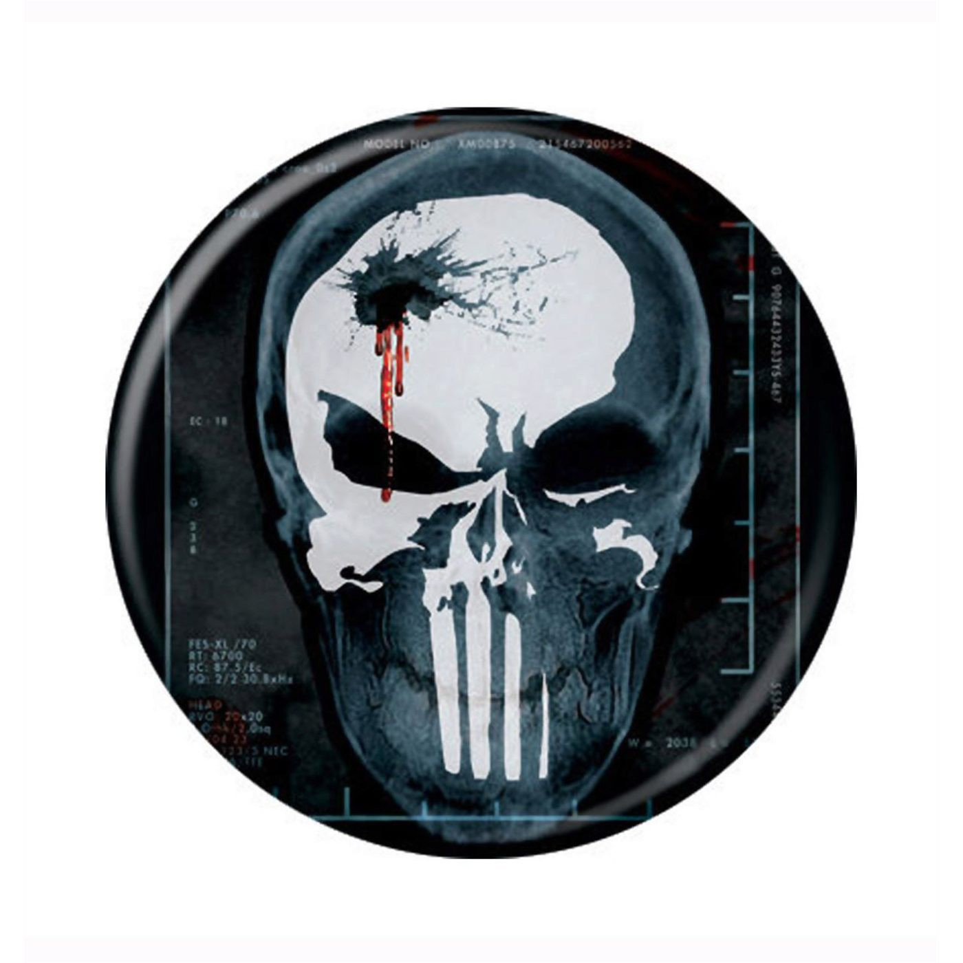 Punisher X-Ray Button