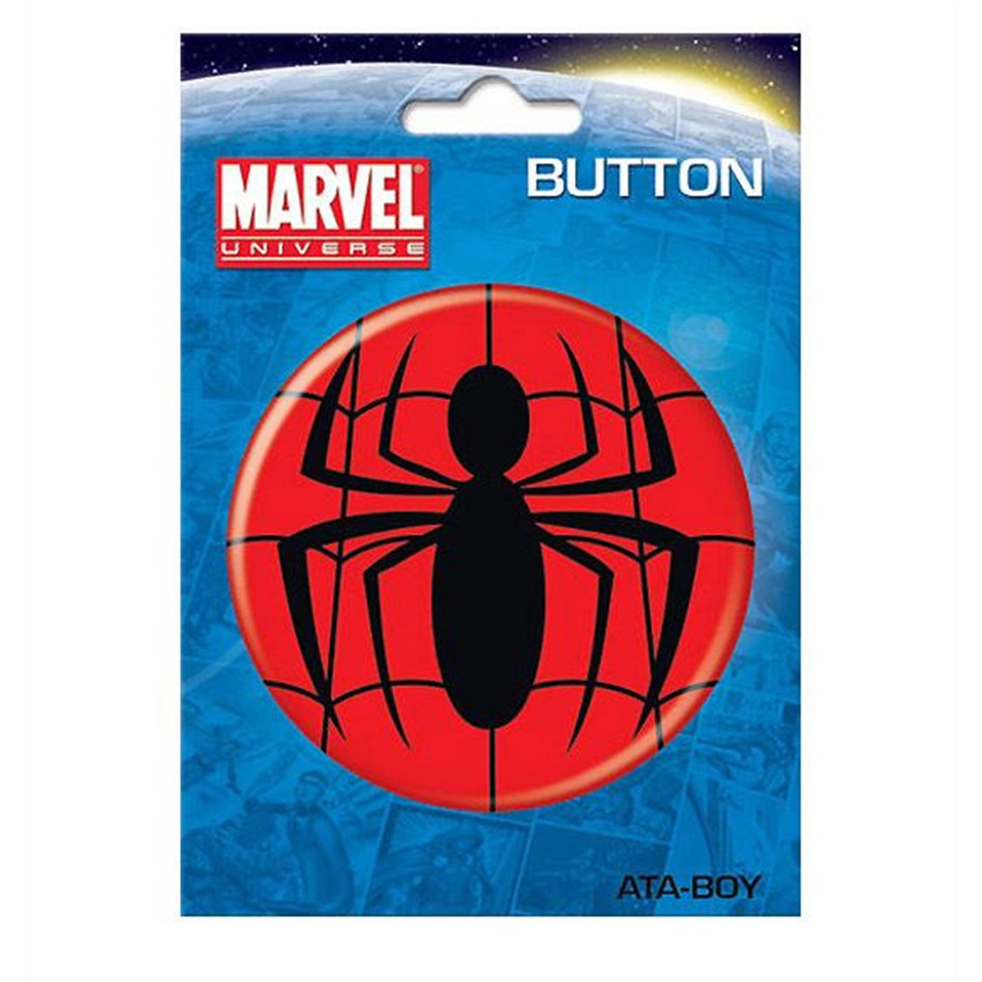 Spider-Man Symbol 3-Inch Button
