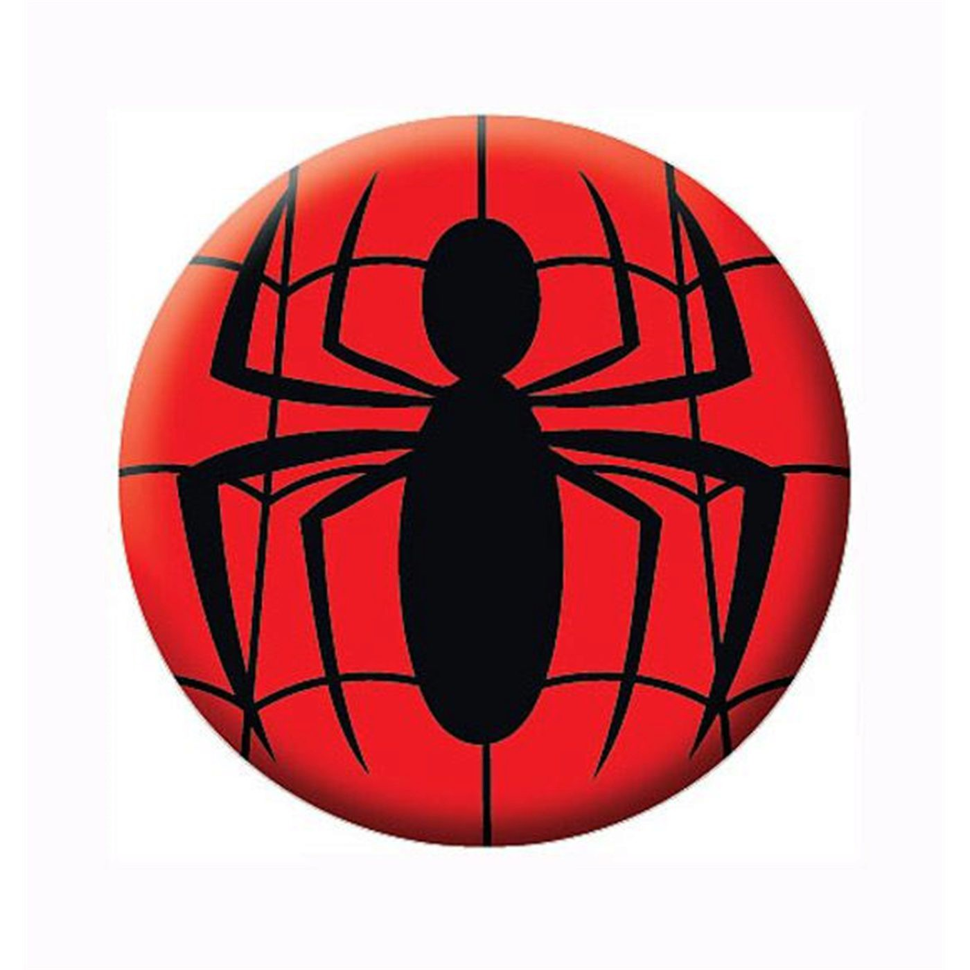 Spider-Man Symbol Button
