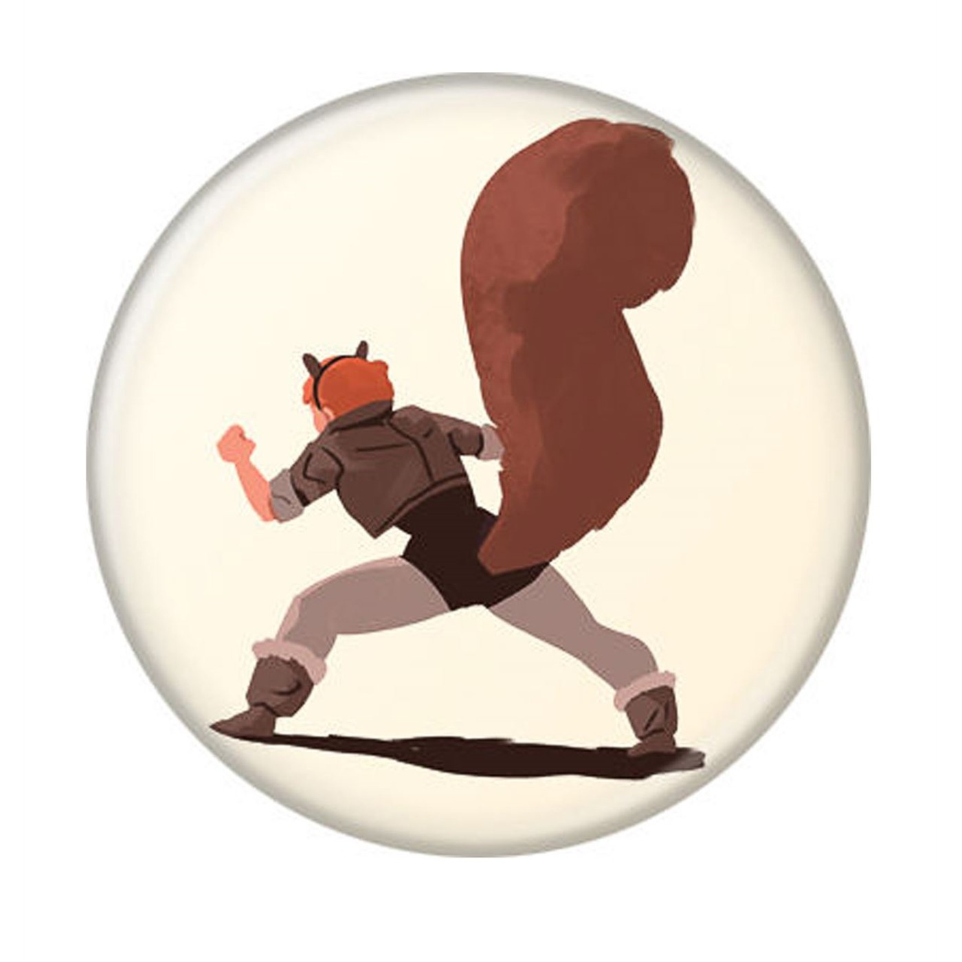 Squirrel Girl The Unbeatable Button