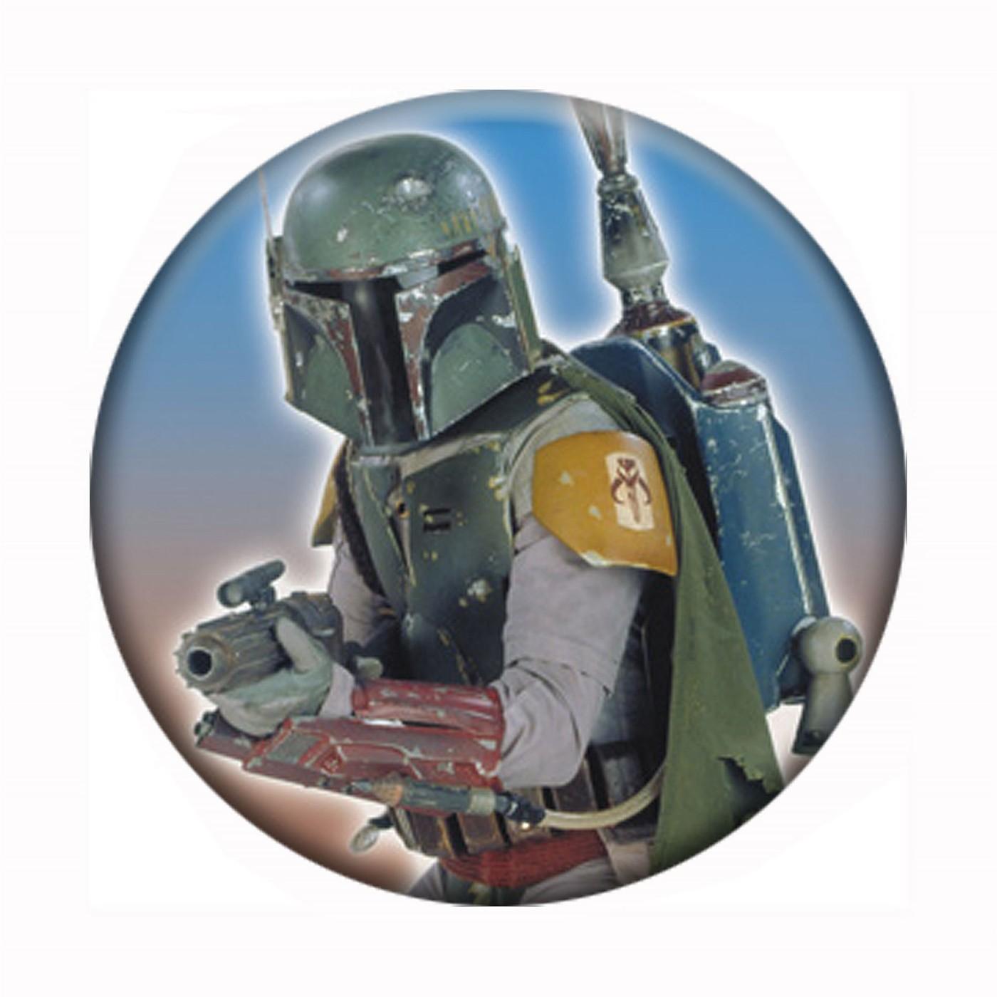 Boba Fett Star Wars Button