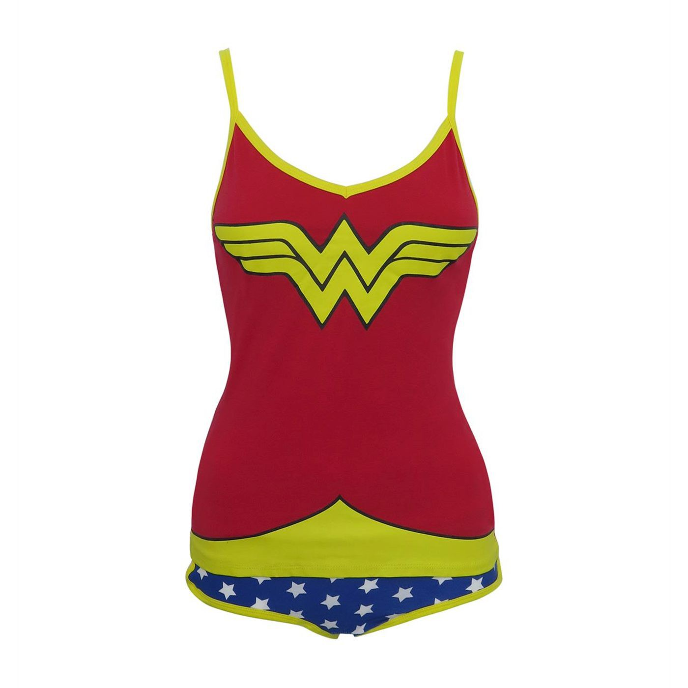 Wonder Woman Cami & Panty Lingerie Set