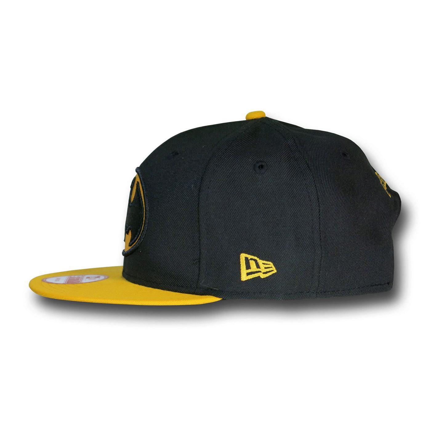 Batman Black & Yellow 9Fifty Snapback Hat