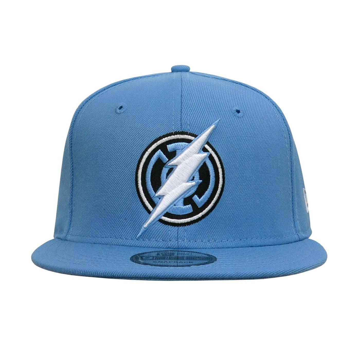 Blue Lantern Flash Symbol 9Fifty Snapback Hat