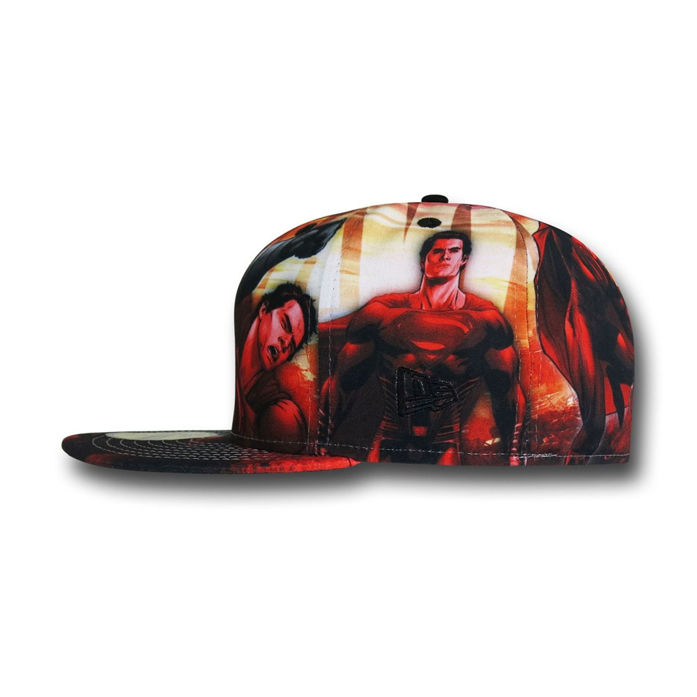 Batman Vs Superman All Over Character 5950 Hat