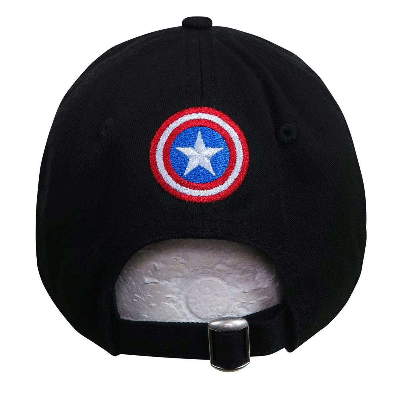 Captain America Shield Black 9Twenty Adjustable Hat