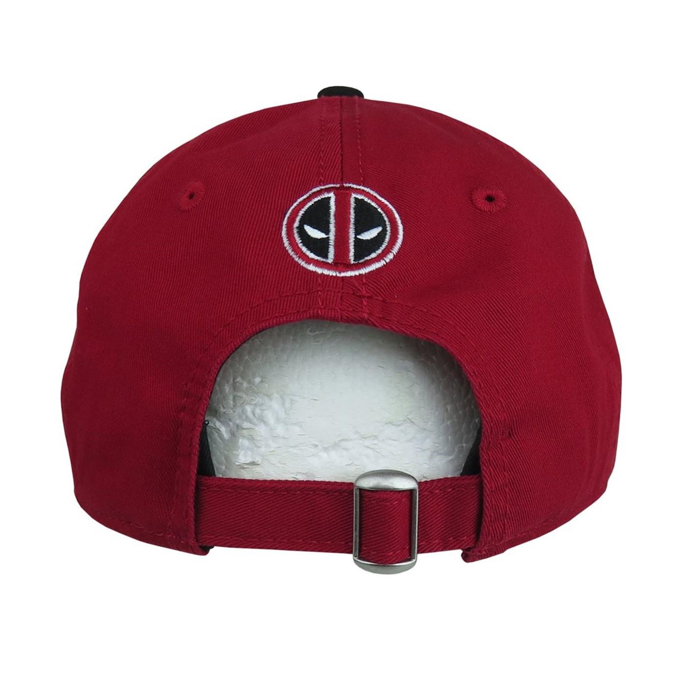 Deadpool Red 9Twenty Adjustable Hat
