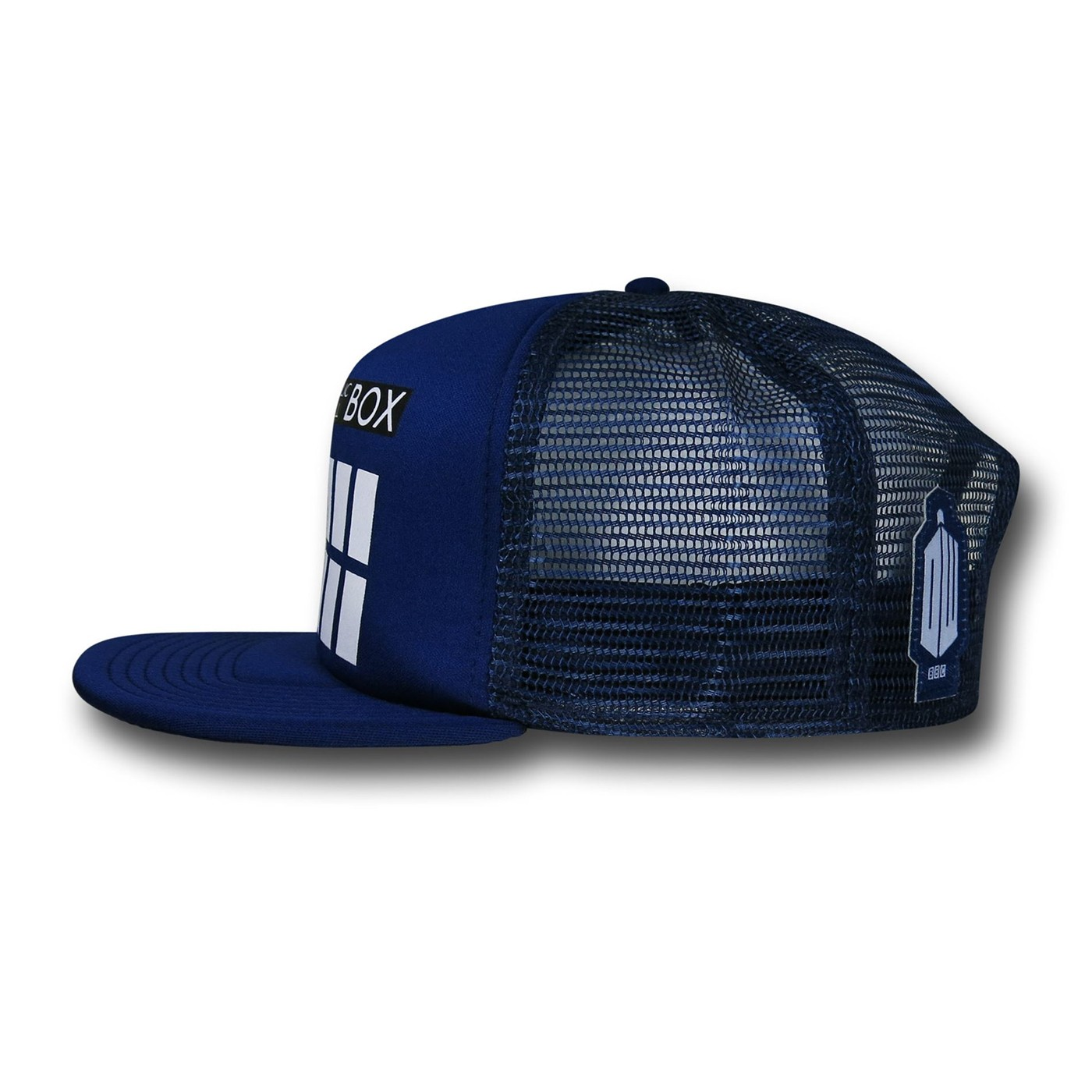 Doctor Who Tardis Trucker Cap