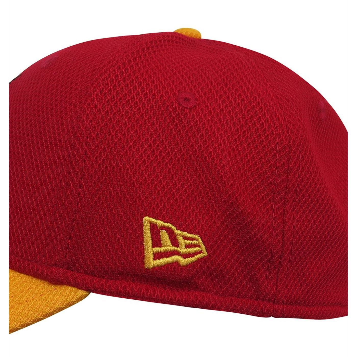Flash 39Thirty Red & Yellow Baseball Hat