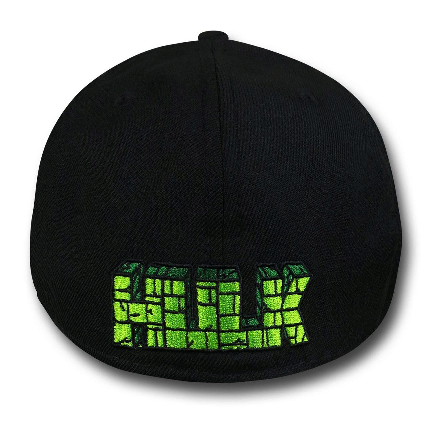 Hulk Radiation Symbol 59Fifty Cap