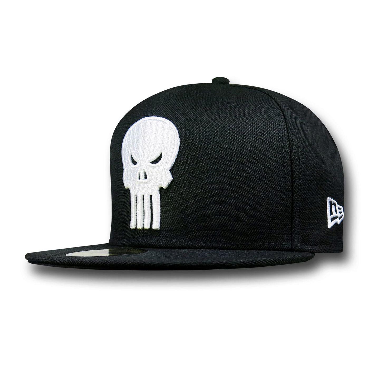 Punisher Symbol Black 59Fifty Cap