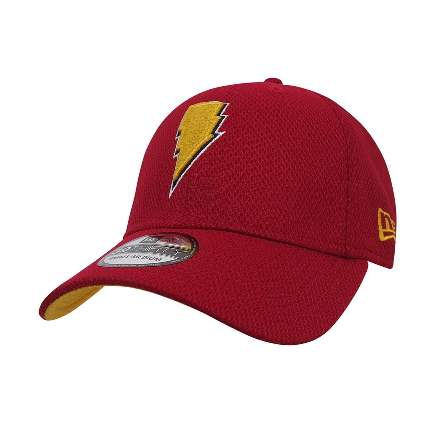 Shazam Symbol 39Thirty Fitted Hat