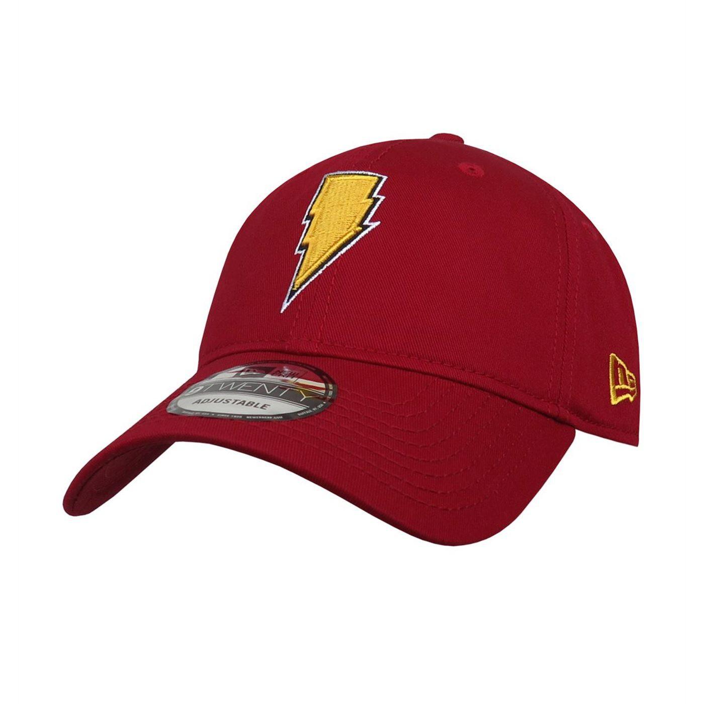 Shazam Symbol 9Twenty Adjustable Hat