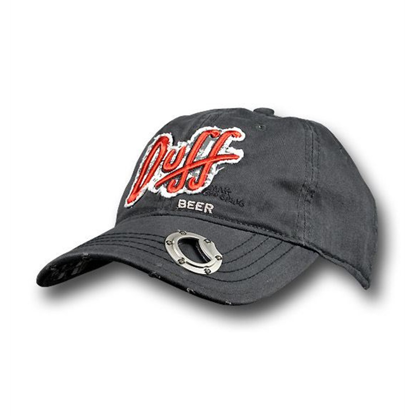 Simpsons Duff Beer Logo Cap With Opener