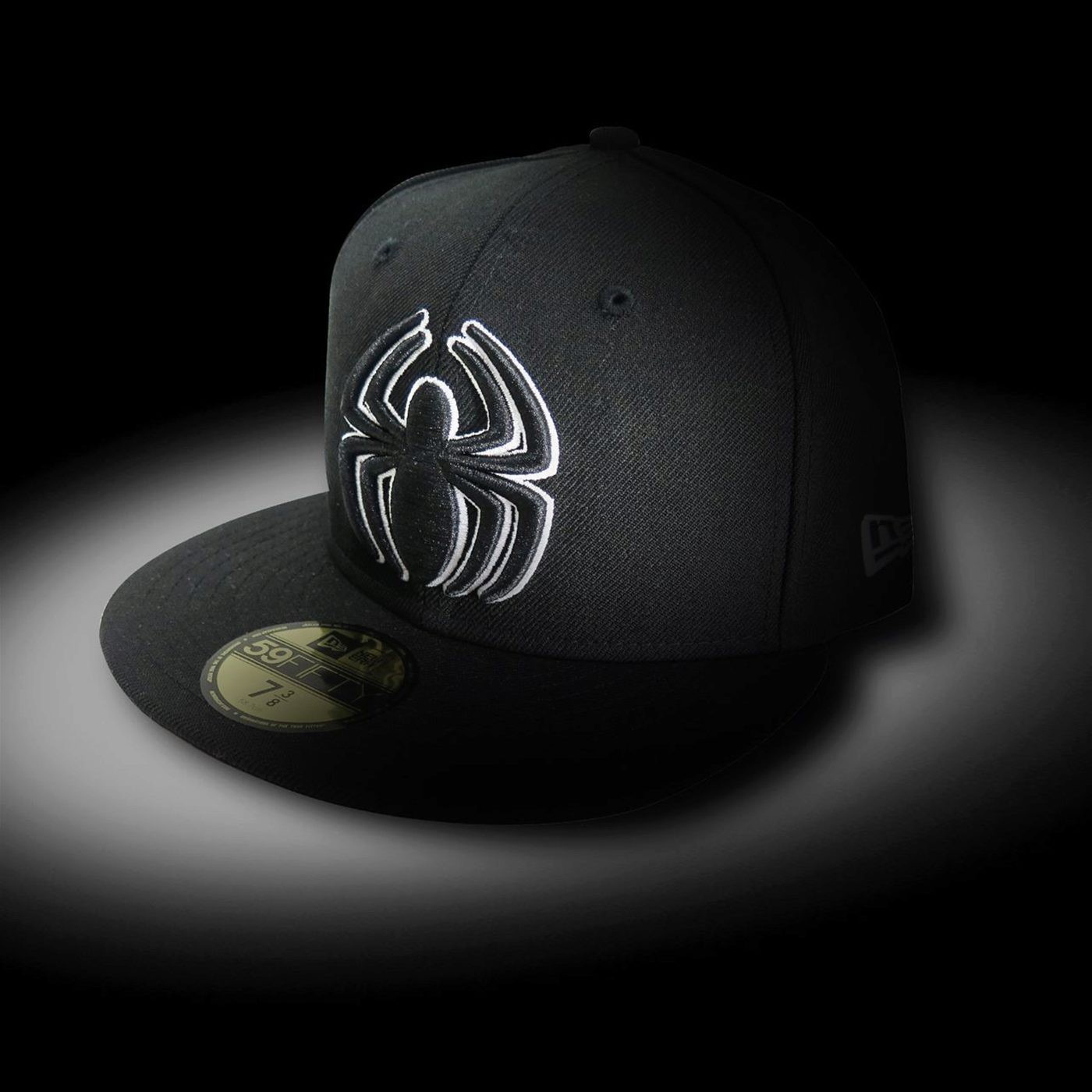 Spiderman Symbol Black 59Fifty Cap