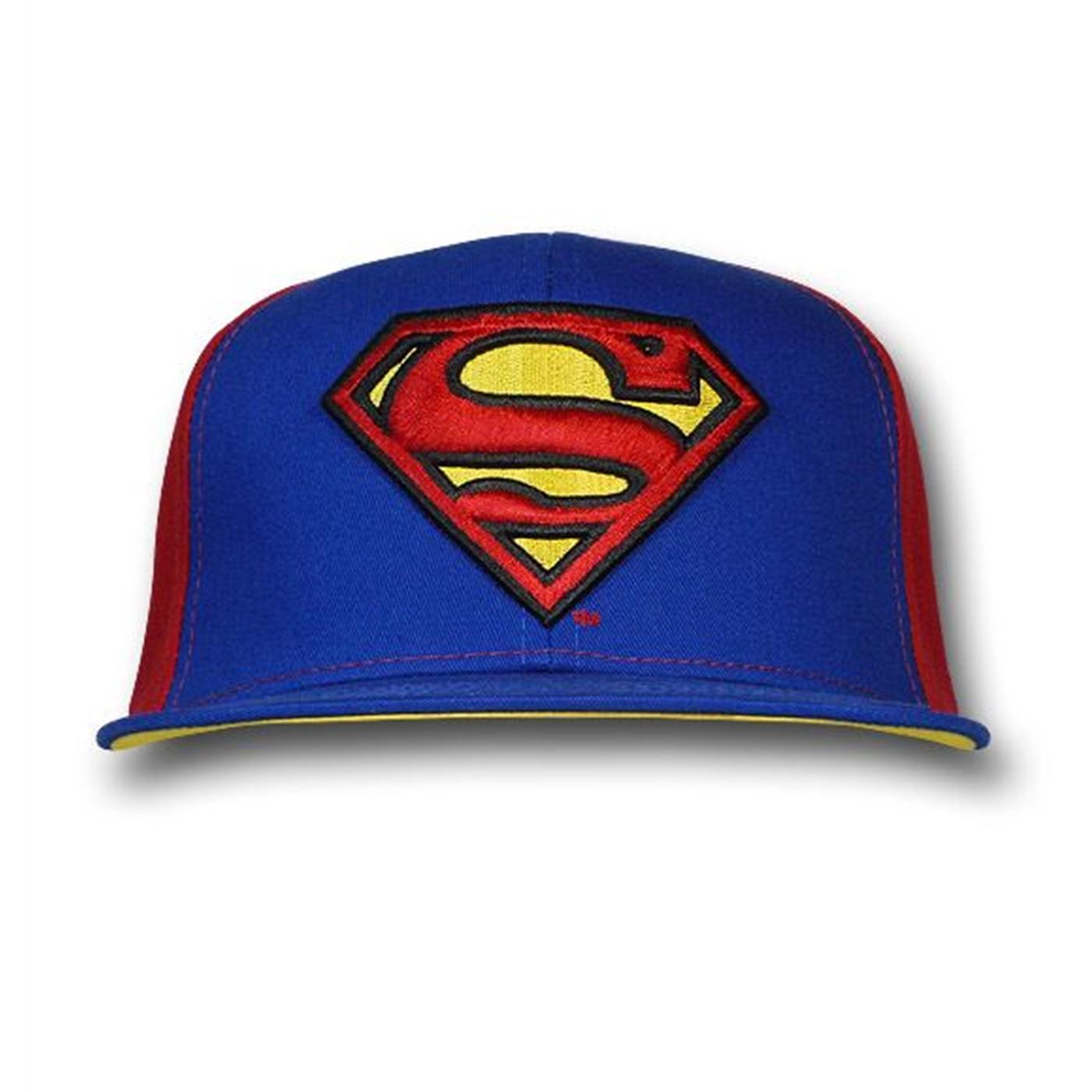 Superman 3D Embroidered Symbol Cap
