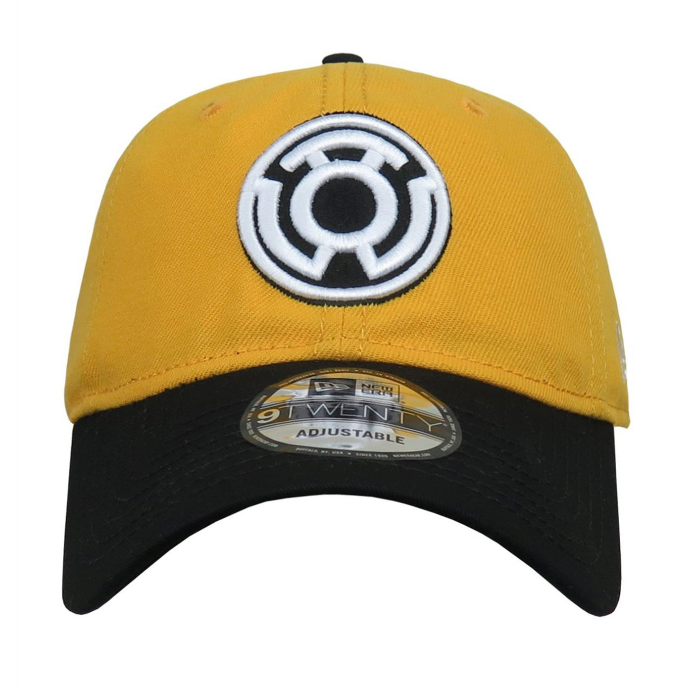 Yellow Lantern Symbol 9Twenty Adjustable Hat