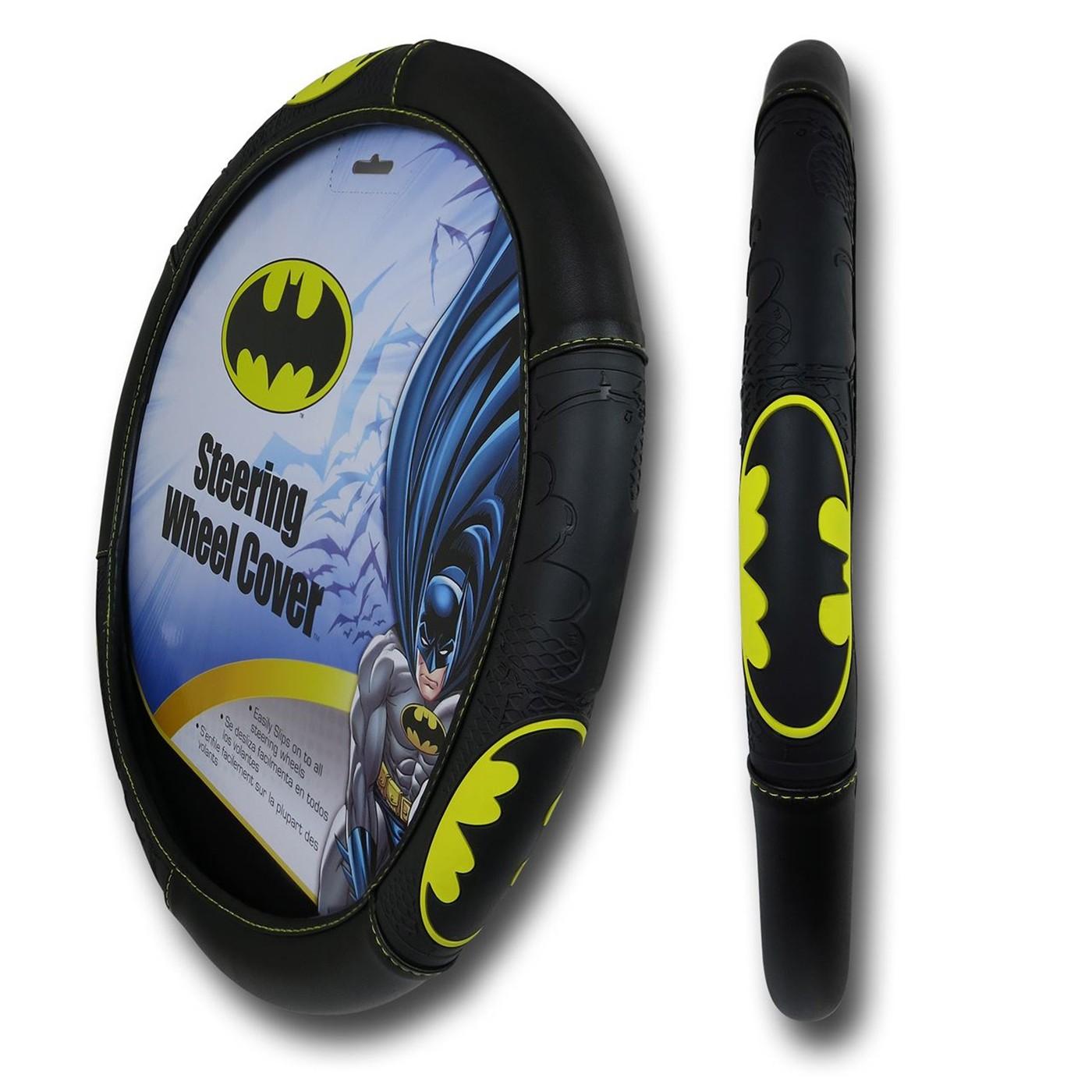 Batman Symbol Steering Wheel Cover