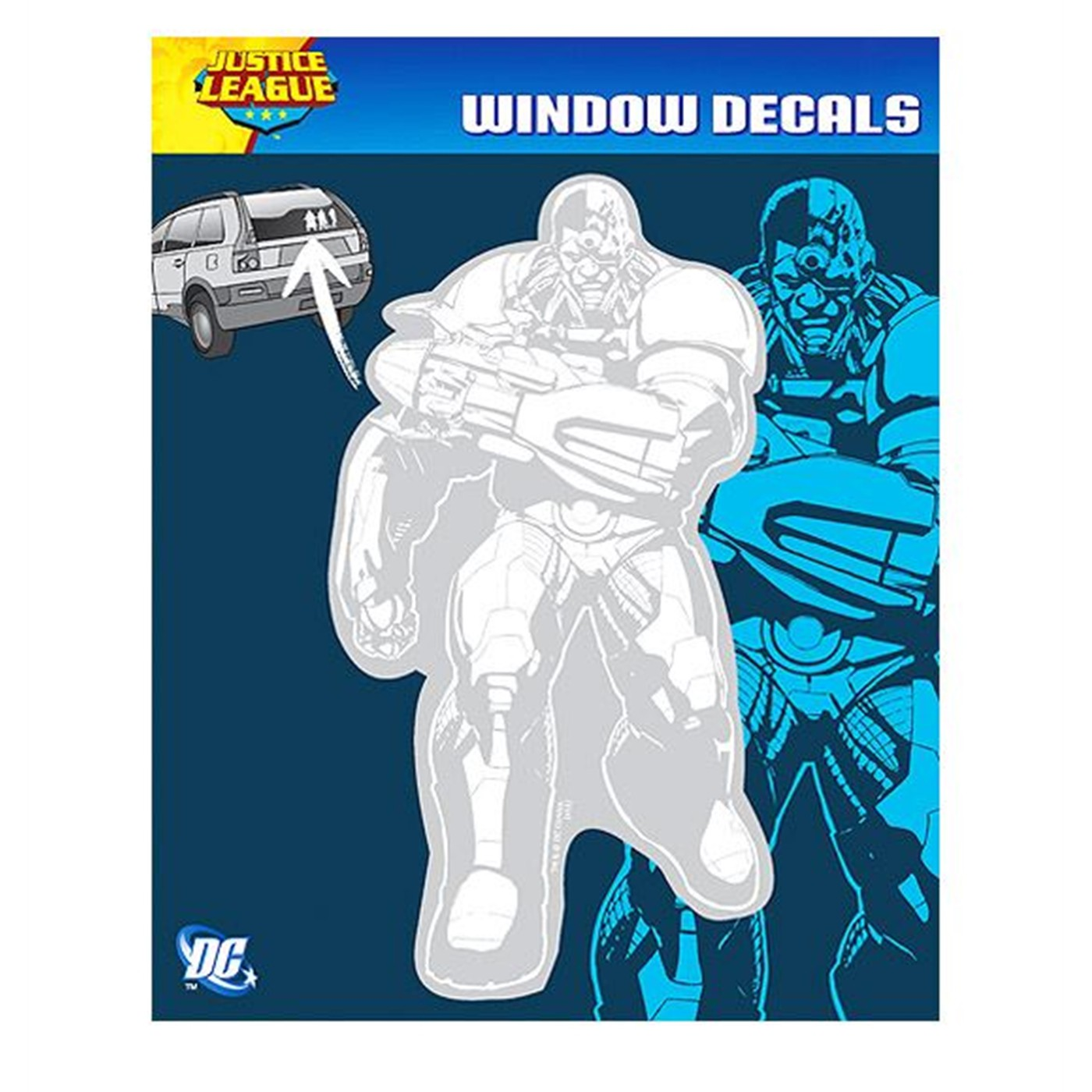 Cyborg New 52 Car Decal