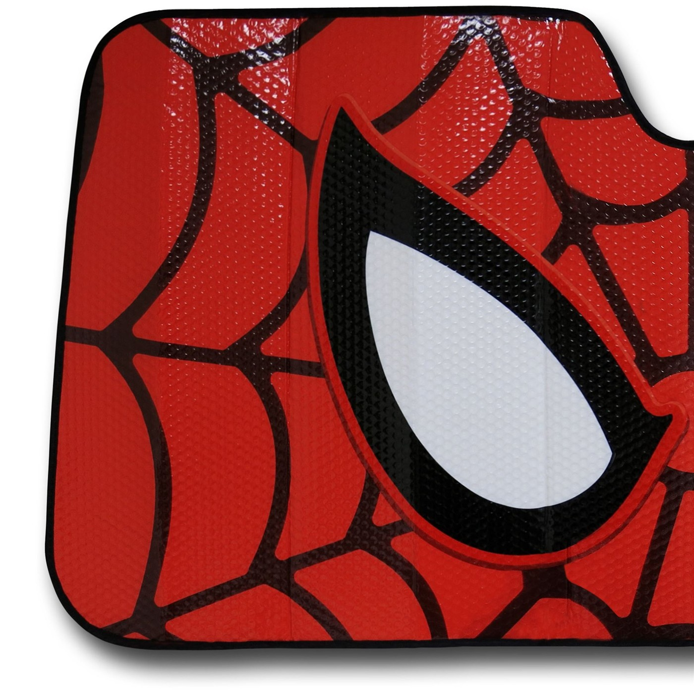 Spiderman Mask Car Sunshade